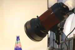 Schijnwerper van rood voor fotografie royalty-vrije stock foto's