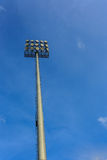 Schijnwerper voor stadion Royalty-vrije Stock Foto's