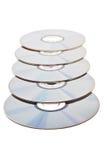Schijven DVD Royalty-vrije Stock Afbeeldingen
