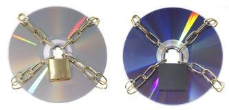 Schijven DVD stock foto's
