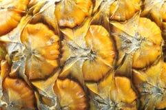 Schil van een rijpe ananas stock fotografie