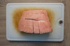 Schil van een ruw roosterend varkensvlees Royalty-vrije Stock Afbeelding