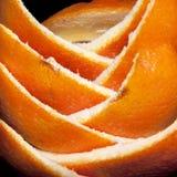 Schil van een sinaasappel stock foto