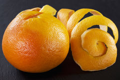 Schil van grapefruit royalty-vrije stock fotografie