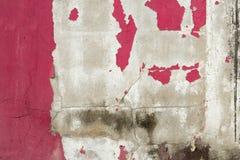 Schil van kleur op de muur wordt geschilderd die stock afbeeldingen