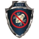 Schild anti-insect Royalty-vrije Stock Afbeeldingen