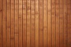 Schild met een groot aantal van parallelle houten logboekentextuur Houten Zonneblinden Stock Foto