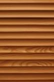 Schild met een groot aantal van parallelle houten logboekentextuur Houten Zonneblinden Royalty-vrije Stock Afbeelding