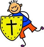 Schild van geloof royalty-vrije illustratie