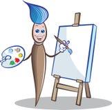Schilder royalty-vrije illustratie