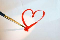 Schilder de liefde royalty-vrije stock foto's