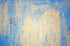 Schilder een muur Stock Foto