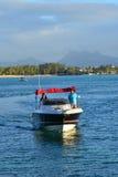 Schilderachtig gebied van canonniers van La Pointe aux in Mauritius Stock Fotografie