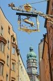 Schilderachtig Innsbruck stock afbeeldingen