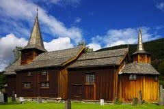 ?Schilderachtig landschap met de oude kerk Royalty-vrije Stock Fotografie