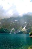Schilderachtig, schoon, rustig bergmeer Royalty-vrije Stock Afbeelding