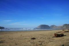 Schilderachtig strand Royalty-vrije Stock Afbeelding