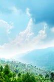 Schilderachtige Bergen Stock Afbeelding