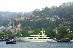 Schilderachtige Bosphorus-kust Royalty-vrije Stock Foto