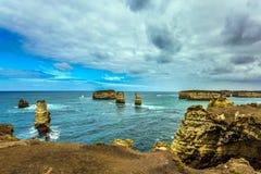 Schilderachtige eilanden - rotsen Royalty-vrije Stock Foto