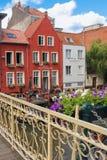 Schilderachtige gebouwen gent belgië royalty-vrije stock foto
