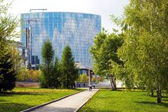 Schilderachtige hoek van Yekaterinburg. Stock Fotografie