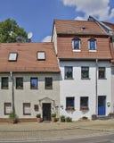 Schilderachtige huisvoorgevels, Duitsland Royalty-vrije Stock Afbeelding