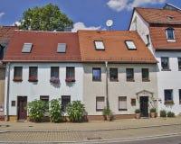 Schilderachtige huisvoorgevels, Duitsland Royalty-vrije Stock Foto's