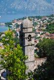 Schilderachtige kerk in Montenegro Royalty-vrije Stock Foto's