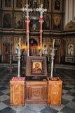 Schilderachtige kerk in Montenegro Royalty-vrije Stock Afbeeldingen