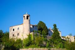 Schilderachtige kerk in Montenegro Royalty-vrije Stock Afbeelding