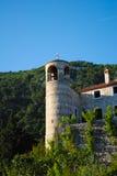 Schilderachtige kerk in Montenegro Stock Foto's