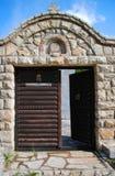 Schilderachtige kerk in Montenegro Stock Fotografie