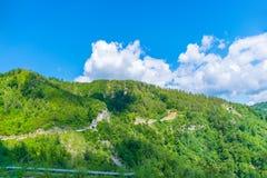 Schilderachtige Komovi-Bergen Stock Afbeeldingen