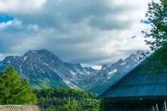Schilderachtige Komovi-Bergen Royalty-vrije Stock Afbeeldingen