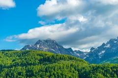 Schilderachtige Komovi-Bergen Royalty-vrije Stock Fotografie