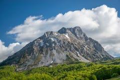 Schilderachtige Komovi-Bergen Stock Foto