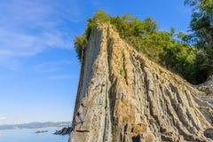 Schilderachtige rots Stock Afbeelding
