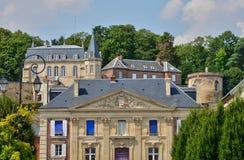 Schilderachtige stad van Dreux in Eure et Loir Royalty-vrije Stock Foto