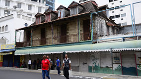 Schilderachtige stad van Haven Louis in Mauritius Republic Stock Fotografie