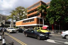 Schilderachtige stad van Haven Louis in Mauritius Republic Royalty-vrije Stock Afbeeldingen