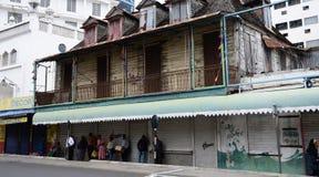Schilderachtige stad van Haven Louis in Mauritius Republic Stock Afbeeldingen