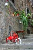 Schilderachtige straatmening Toscanië royalty-vrije stock foto's