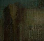 Schilderend door olie op canvas, achtergrond stock illustratie