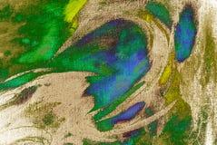 schilderend door olie op canvas, illustratie Royalty-vrije Stock Afbeeldingen