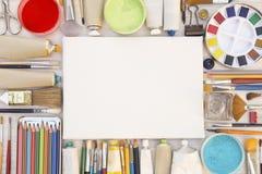 Schilderend materiaal stock foto's