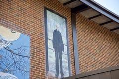 Schilderend op Gaisman-Park en Communautair Centrum, Memphis Park Commission stock fotografie