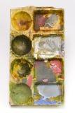 Schilderend palet Royalty-vrije Stock Afbeelding