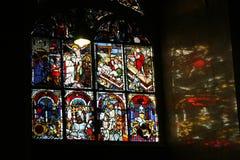 Schilderend venster royalty-vrije stock foto's