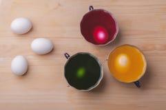 Schilderende eieren Royalty-vrije Stock Afbeeldingen